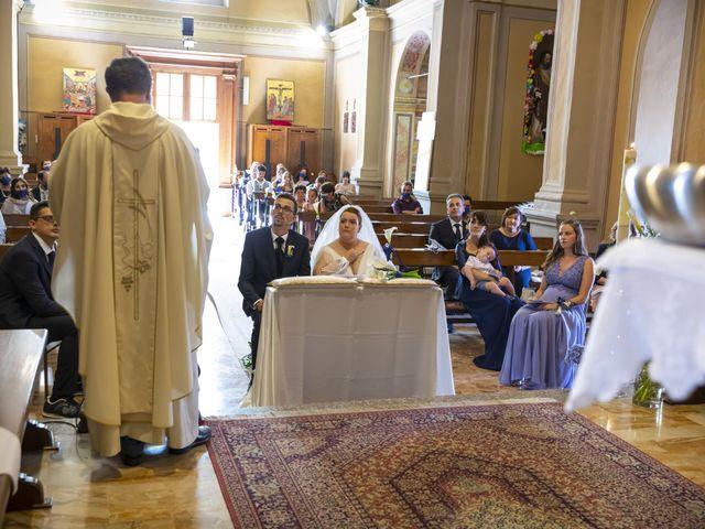 Il matrimonio di Luca e Nicole a Monte Cremasco, Cremona 48