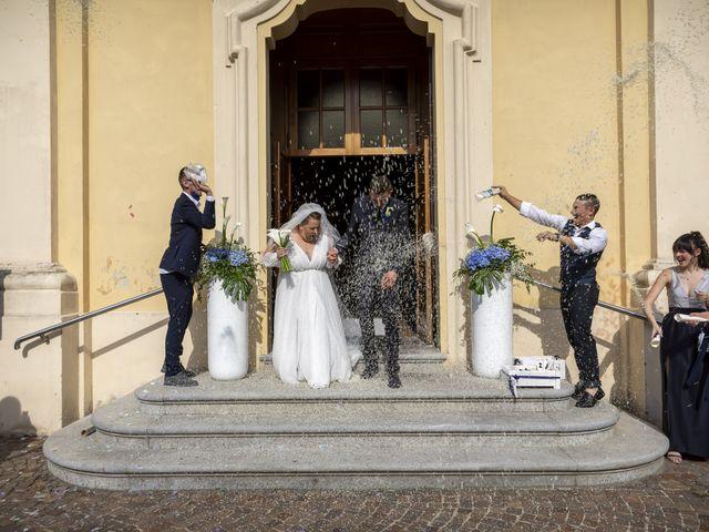 Il matrimonio di Luca e Nicole a Monte Cremasco, Cremona 59
