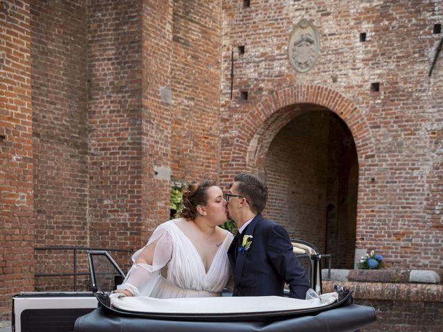 Il matrimonio di Luca e Nicole a Monte Cremasco, Cremona 63