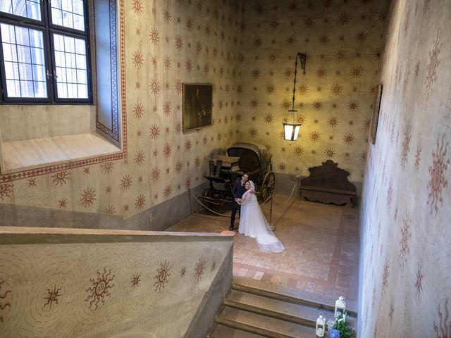 Il matrimonio di Luca e Nicole a Monte Cremasco, Cremona 71