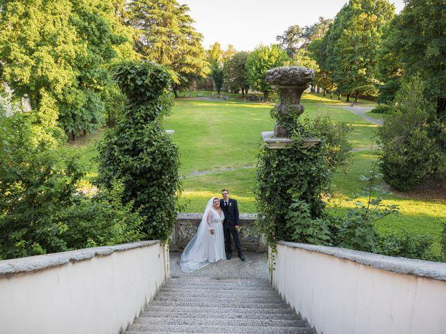 Il matrimonio di Luca e Nicole a Monte Cremasco, Cremona 72