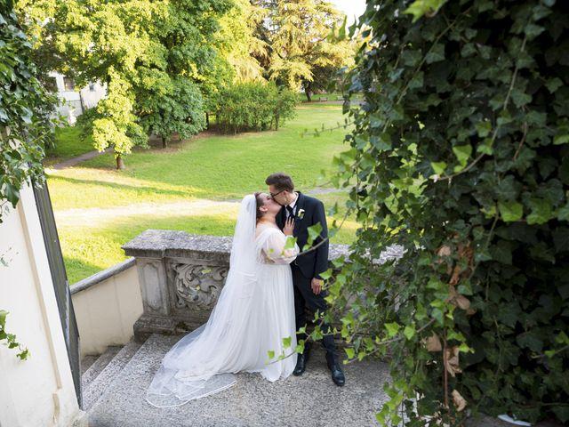 Il matrimonio di Luca e Nicole a Monte Cremasco, Cremona 73