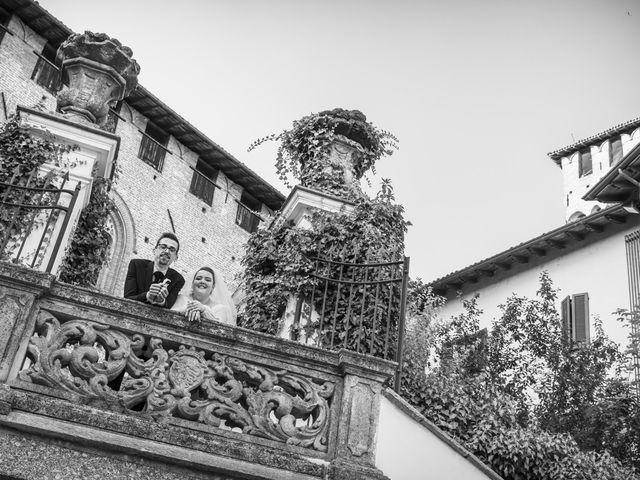 Il matrimonio di Luca e Nicole a Monte Cremasco, Cremona 74
