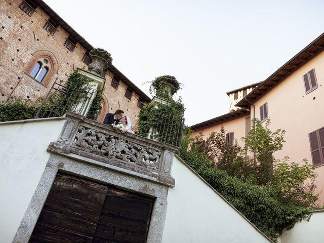 Il matrimonio di Luca e Nicole a Monte Cremasco, Cremona 75