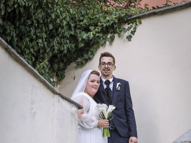 Il matrimonio di Luca e Nicole a Monte Cremasco, Cremona 76