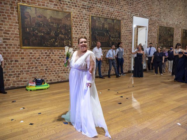 Il matrimonio di Luca e Nicole a Monte Cremasco, Cremona 82