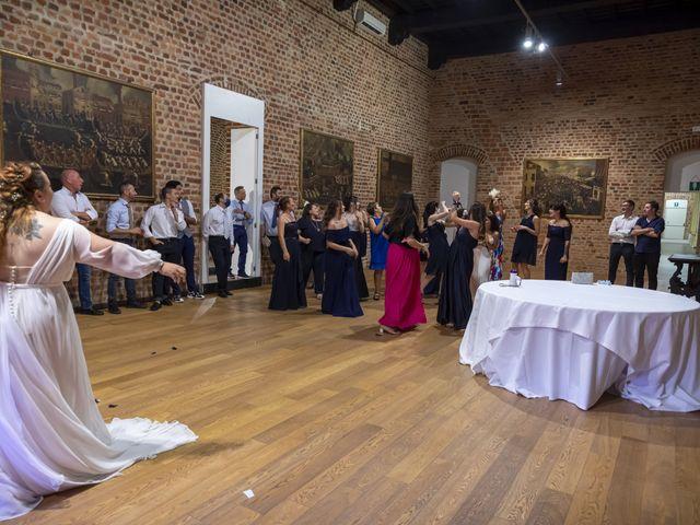 Il matrimonio di Luca e Nicole a Monte Cremasco, Cremona 84