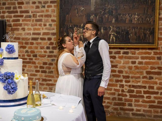 Il matrimonio di Luca e Nicole a Monte Cremasco, Cremona 92