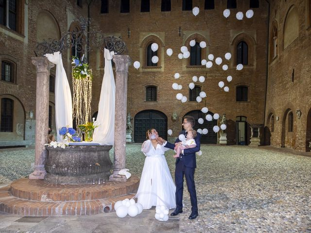 Il matrimonio di Luca e Nicole a Monte Cremasco, Cremona 94