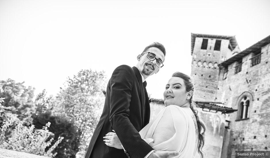 Il matrimonio di Luca e Nicole a Monte Cremasco, Cremona