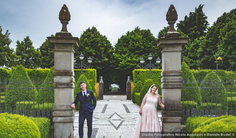Il matrimonio di Fabio e Elena a Lograto, Brescia
