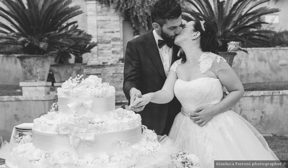 Il matrimonio di Massimo e Maria Cristina a Campofilone, Fermo