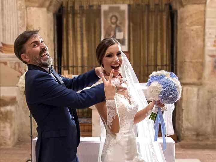 le nozze di Angela e Dario