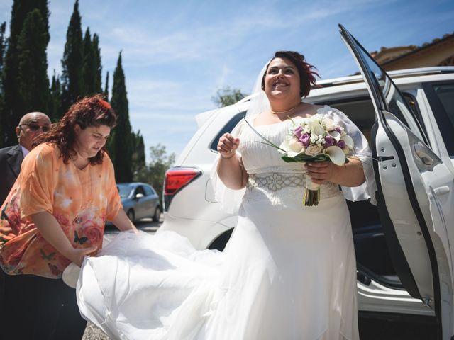 Il matrimonio di Marco e Teresa a Riparbella, Pisa 9