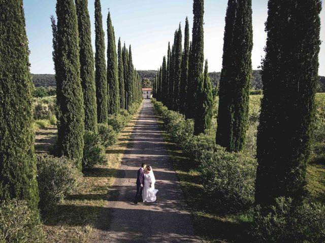 Il matrimonio di Marco e Teresa a Riparbella, Pisa 16