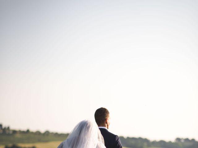 Il matrimonio di Marco e Teresa a Riparbella, Pisa 17