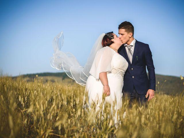 Il matrimonio di Marco e Teresa a Riparbella, Pisa 20