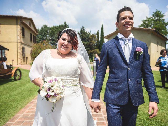 Il matrimonio di Marco e Teresa a Riparbella, Pisa 28