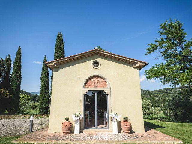 Il matrimonio di Marco e Teresa a Riparbella, Pisa 35