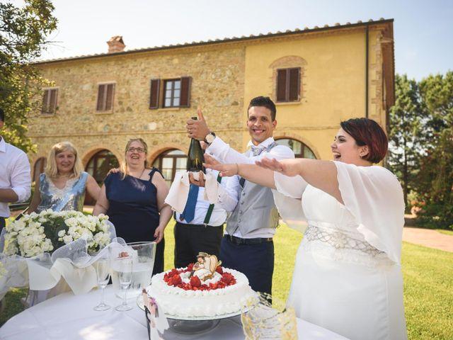 Il matrimonio di Marco e Teresa a Riparbella, Pisa 38