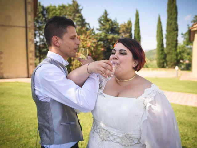 Il matrimonio di Marco e Teresa a Riparbella, Pisa 39