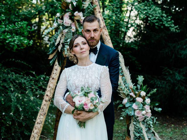Le nozze di Alessandra e Moreno