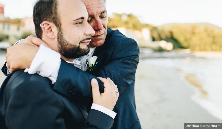 Il matrimonio di Paolo e Alessandro a Lerici, La Spezia