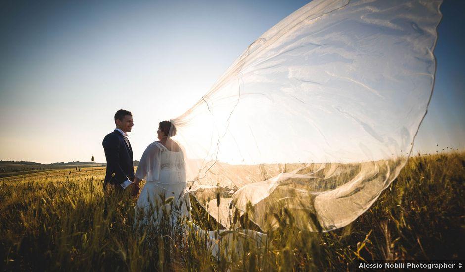 Il matrimonio di Marco e Teresa a Riparbella, Pisa