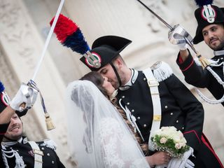Le nozze di Alessandra e Gianluca