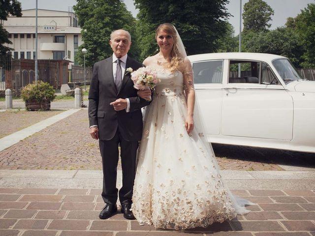 Il matrimonio di Gabriele e Elettra a Verdello, Bergamo 39