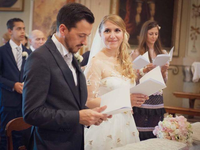 Il matrimonio di Gabriele e Elettra a Verdello, Bergamo 45