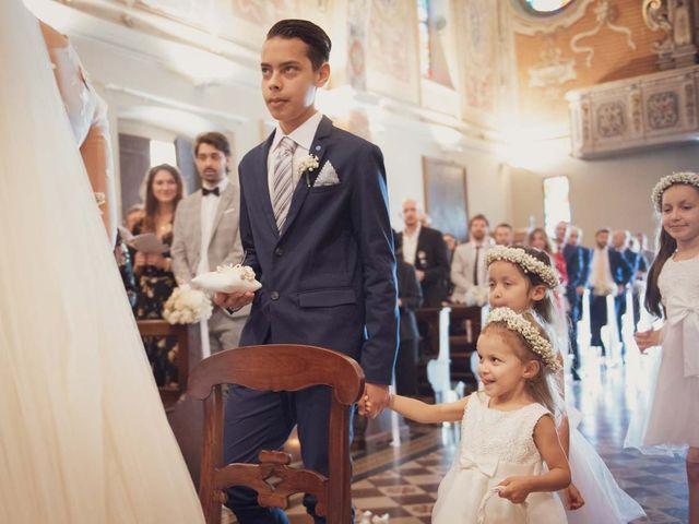 Il matrimonio di Gabriele e Elettra a Verdello, Bergamo 49