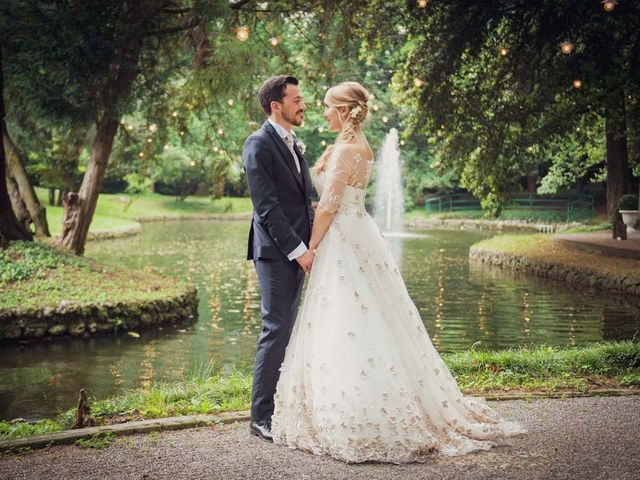 Il matrimonio di Gabriele e Elettra a Verdello, Bergamo 69