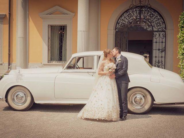 Il matrimonio di Gabriele e Elettra a Verdello, Bergamo 75