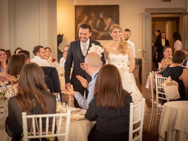 Il matrimonio di Gabriele e Elettra a Verdello, Bergamo 79