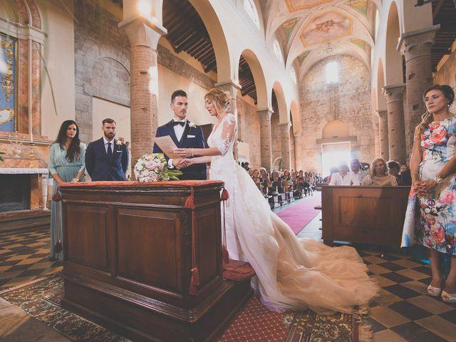 Il matrimonio di Marco e Melissa a Peccioli, Pisa 16