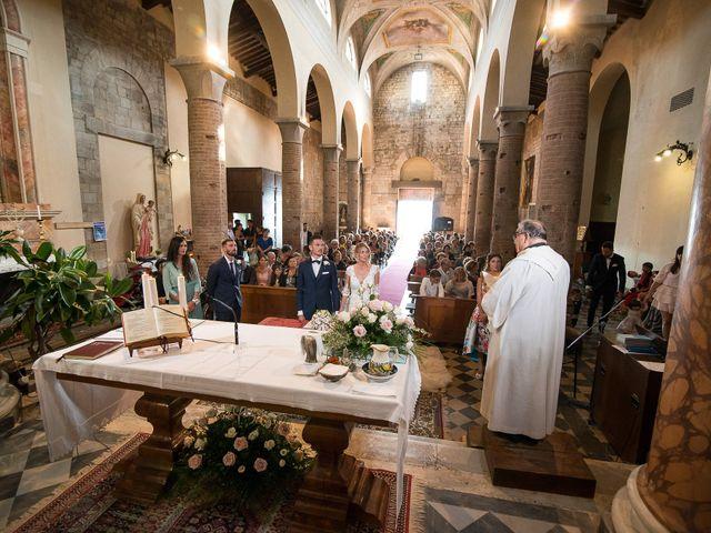 Il matrimonio di Marco e Melissa a Peccioli, Pisa 17