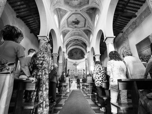 Il matrimonio di Marco e Melissa a Peccioli, Pisa 18