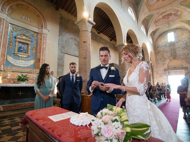 Il matrimonio di Marco e Melissa a Peccioli, Pisa 19