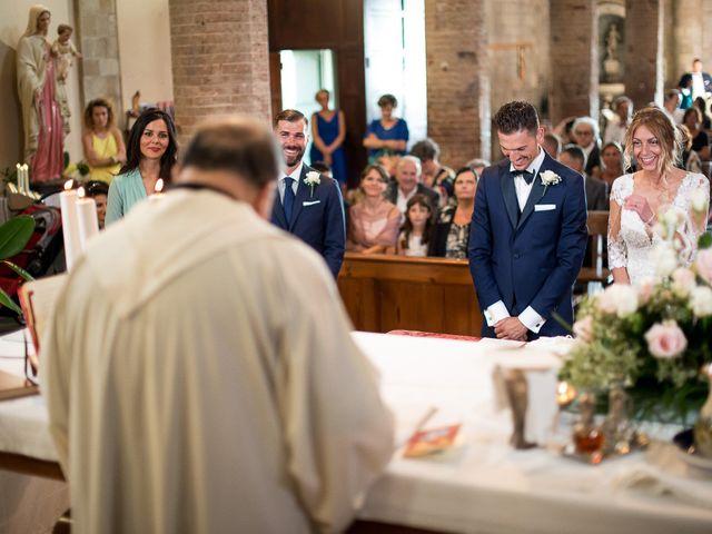 Il matrimonio di Marco e Melissa a Peccioli, Pisa 21
