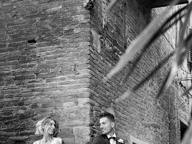 Il matrimonio di Marco e Melissa a Peccioli, Pisa 28