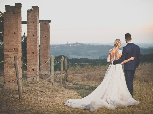 Il matrimonio di Marco e Melissa a Peccioli, Pisa 33