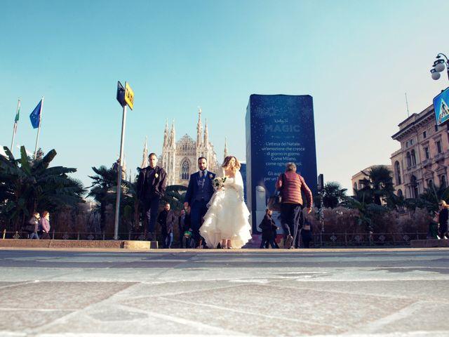 Il matrimonio di Riccardo e Daniela a Milano, Milano 87
