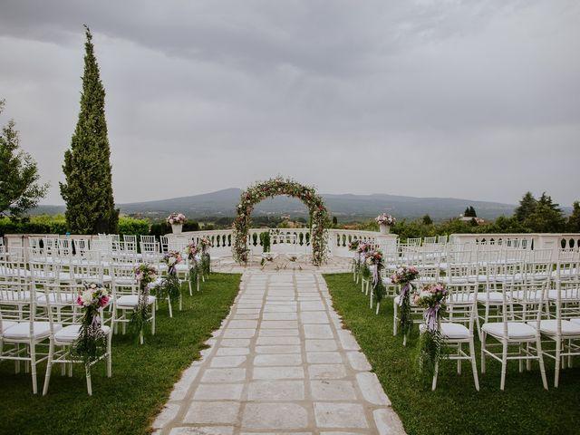 Il matrimonio di Marco e Francesca a Bassano Romano, Viterbo 25