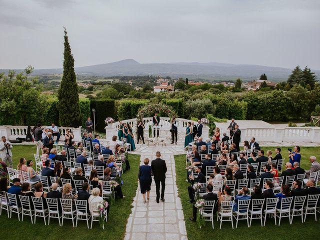 Il matrimonio di Marco e Francesca a Bassano Romano, Viterbo 38
