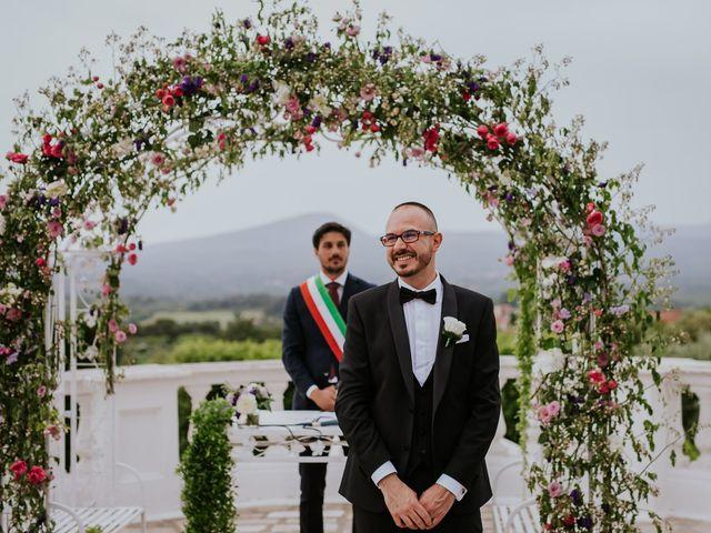 Il matrimonio di Marco e Francesca a Bassano Romano, Viterbo 41