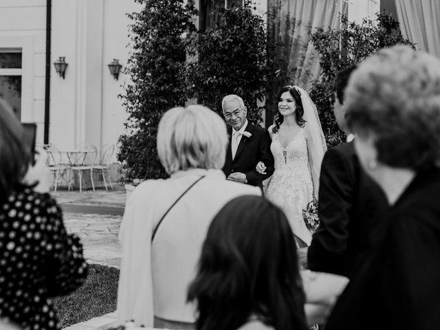 Il matrimonio di Marco e Francesca a Bassano Romano, Viterbo 44