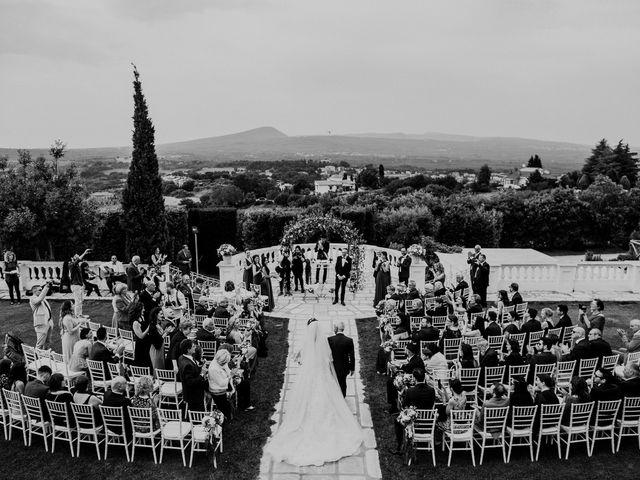 Il matrimonio di Marco e Francesca a Bassano Romano, Viterbo 46