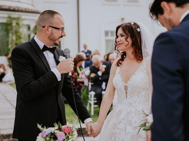 Il matrimonio di Marco e Francesca a Bassano Romano, Viterbo 53