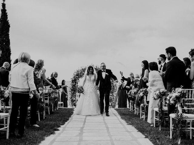 Il matrimonio di Marco e Francesca a Bassano Romano, Viterbo 64